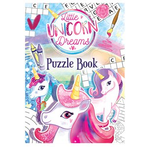 Puzzle Books - Unicorn Party Supplies