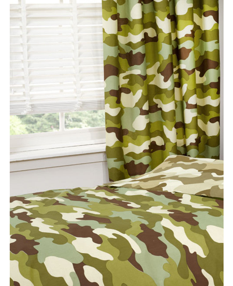 Army Camouflage Curtains - Army Bedding