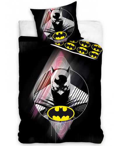 Batman Single Cotton Duvet Cover And Pillowcase Set  - Batman Duvet