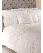 Load image into Gallery viewer, Limoges Rose Ruffle CREAM Duvet Cover And Pillowcase Set - Ruffle Bedding