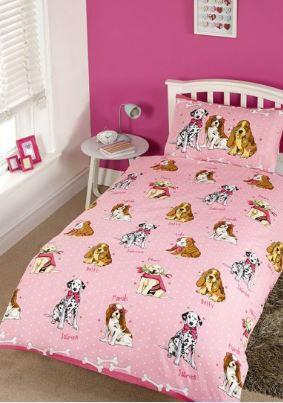 Doggies PINK  Duvet Set - Dog/Puppy Bedding