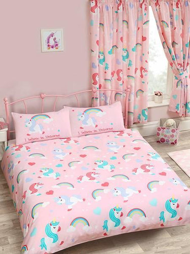 I Believe in Unicorns Duvet - Kids Bedding
