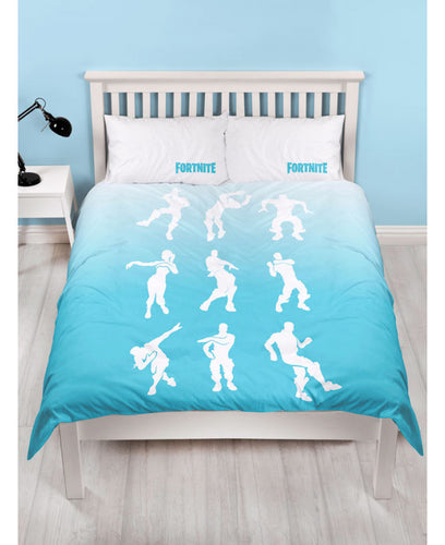 Official Fortnite Double Duvet Cover Battle Royale Shuffle Set -  Fortnite Bedding