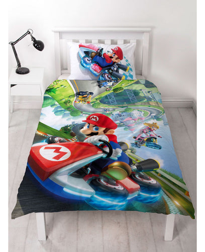 Nintendo Super Mario Gravity Duvet Cover Set - Mario Brothers Bedding
