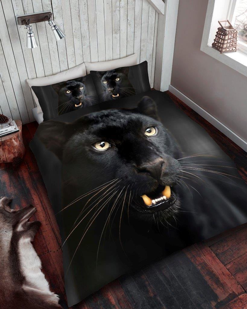 Panther Duvet - Panther Bedding