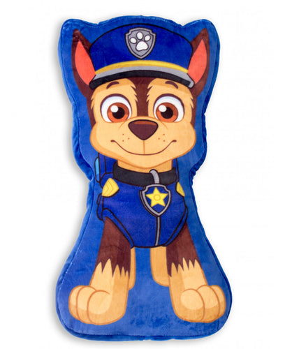 Paw Patrol Chase Shaped Cushion - Paw Patrol Bedding