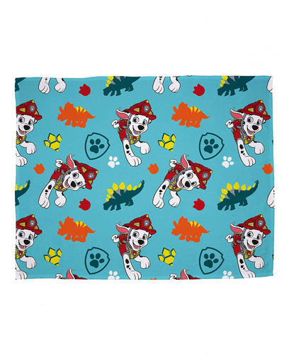Paw Patrol Dino Fleece Blanket - Paw Patrol Bedding