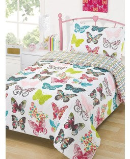 Layla Butterfly Duvet - Butterfly Duvet - ON SALE