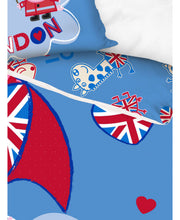Load image into Gallery viewer, Peppa Pig London Single Duvet Cover Set  -  Peppa Pig Bedding