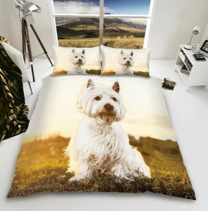 Westie Duvet - Dog Bedding