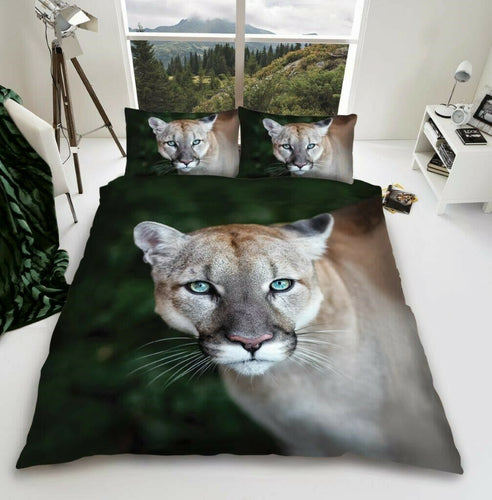 3D Puma Duvet - Animal Bedding