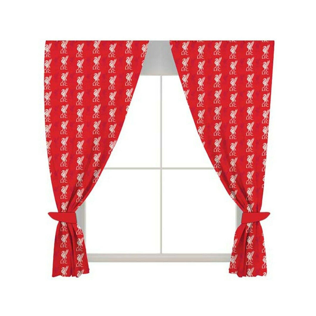 Liverpool FC Curtains - Liverpool Bedding