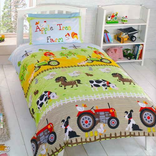 Apple Tree Farm Duvet - Barnyard / Farmyard Bedding
