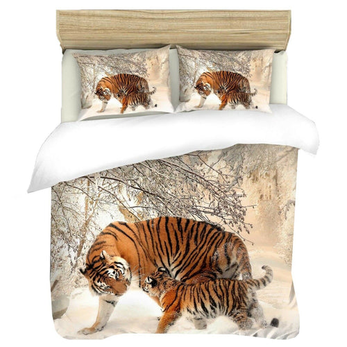 Tiger Duvet - HD Printed Duvet / Animal Bedding