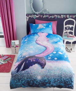 Mermaid Wave Duvet - Mermaid Bedding