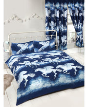 Load image into Gallery viewer, Star Dust Unicorn Duvet - NAVY - Kids Bedding