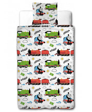 Load image into Gallery viewer, Thomas & Friends Ride On Single Duvet Cover Set - Thomas the Tank Engine Bedding