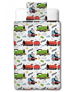 Thomas & Friends Ride On Single Duvet Cover Set - Thomas the Tank Engine Bedding