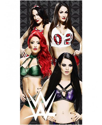 WWE Divas Beach Towel- WWE Wrestling Bedding