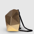 luxury gold womens backpack