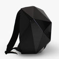 CLOTH BACKPACK WITH BLACK SHELL