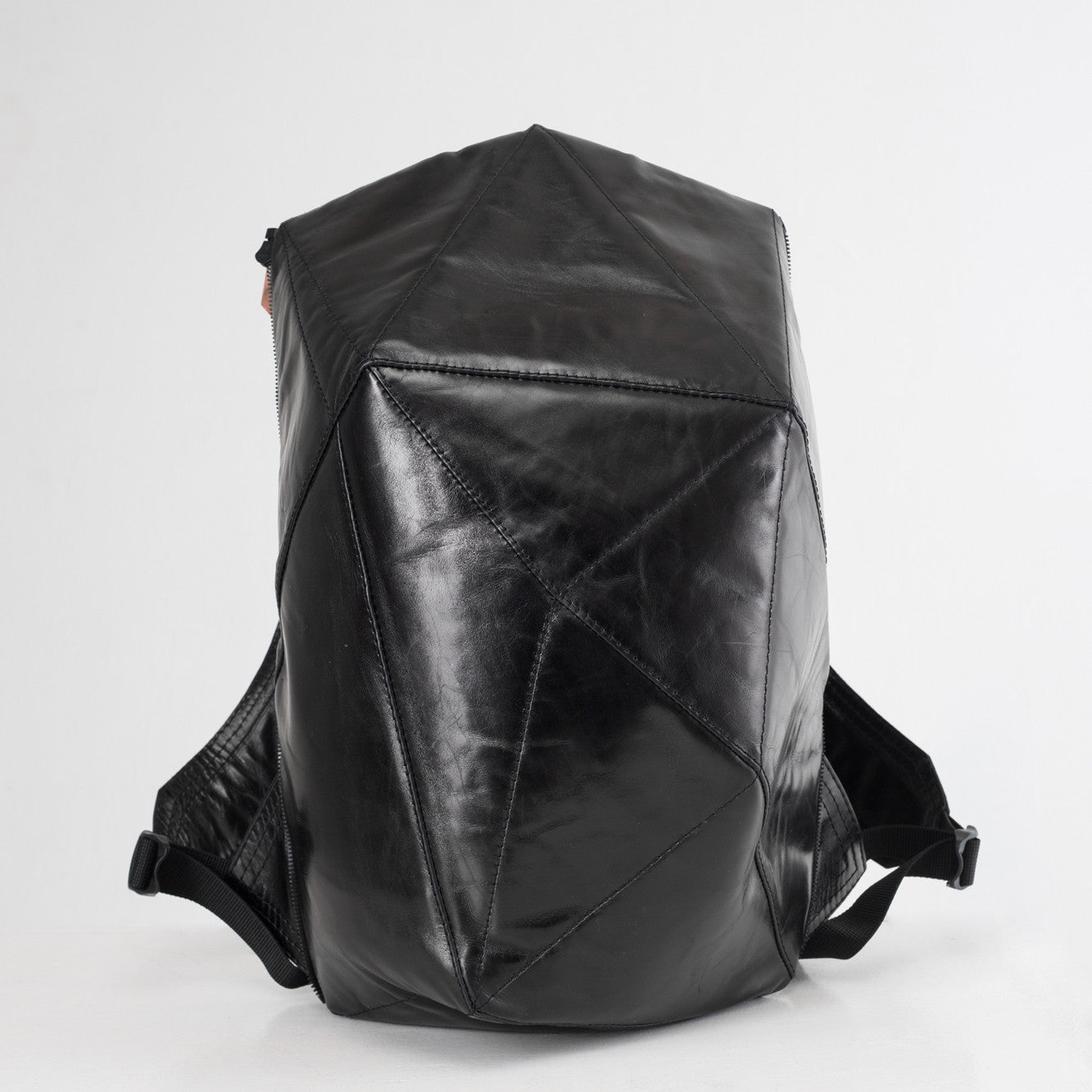... LEATHER BACKPACK WITH BLACK SHELL ... ac12065ced