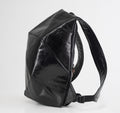 LEATHER BACKPACK WITH BLACK SHELL