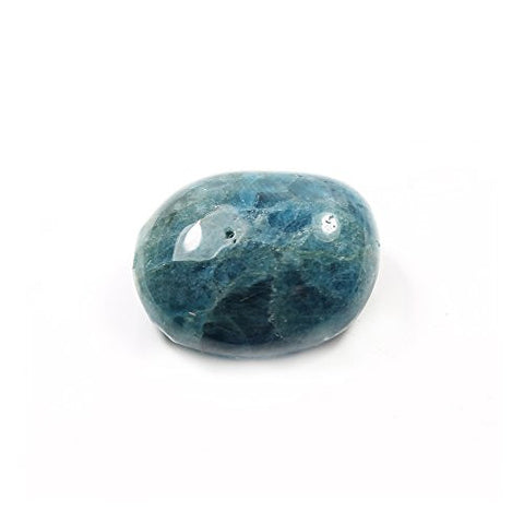 Blue Apatite Extra Grade Tumble Stone (20-25mm) Single Stone