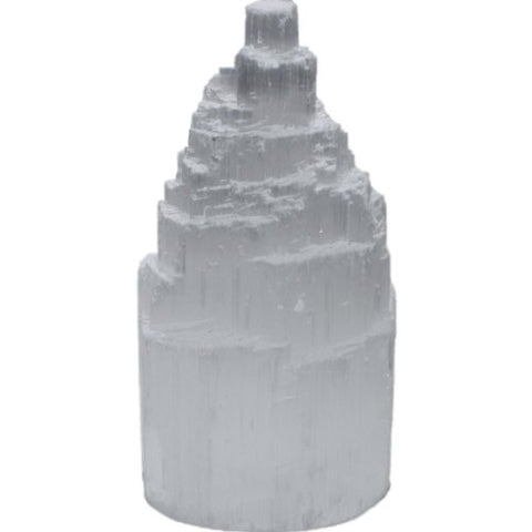 Selenite Tower 10cm