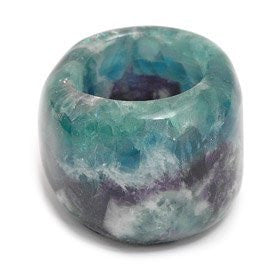 Fluorite Candle Tealight Holder