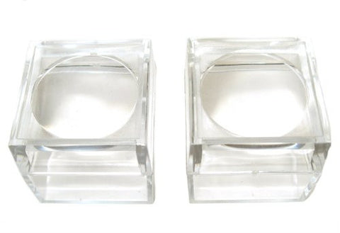 Small Magnifying Acrylic Display Boxes (2pack)