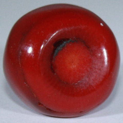Red Coral Tumble Stone (20-25mm) Single Stone