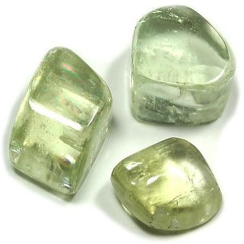 Hiddenite Tumble Stone 30mm