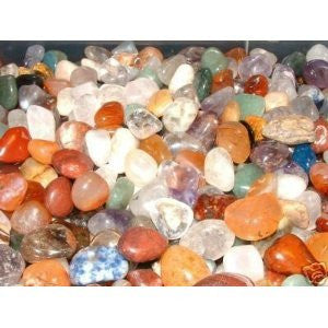 Set of 12 crystals - Rainbow Selection