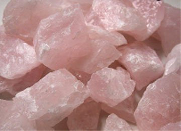 1Kg Rough Rose Quartz Chips