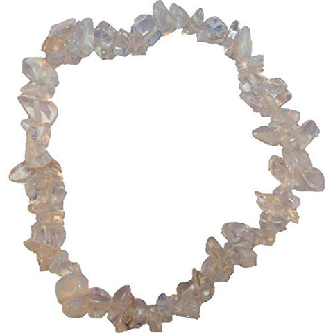 Opalite Crystal Power Chip Bracelet