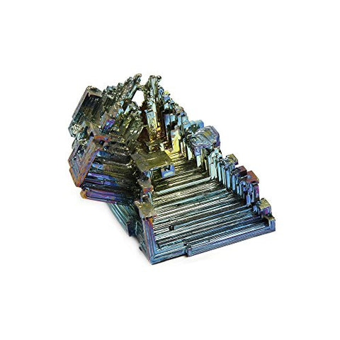 Bismuth Crystal Specimen (Medium)