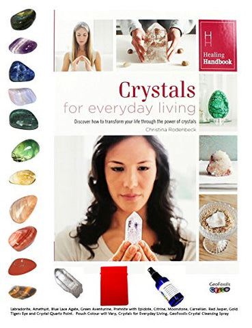 Crystal Tumble Stone set of 12 Healing Crystals - Includes Red Jasper, Carnelian, Citrine, Green Aventurine, Blue Lace Agate, Sodalite, Amethyst, Moonstone, Tigers Eye, Labradorite, Prehnite and Crystal Quartz Point