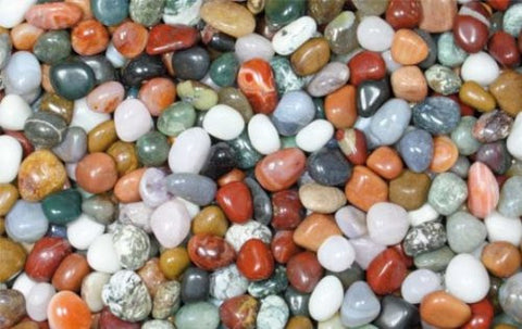 1kg Mini Mixed Tumblestones (8-15mm)