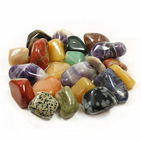 Assorted Tumble Stones Extra Large 40-50mm