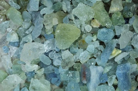 GeoFossils - Aquamarine Mineral Healing Crystal - 50g