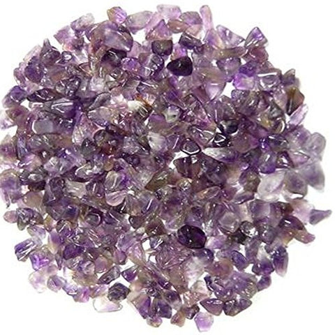 Amethyst Gem Chip Tumble Stones 5-10mm