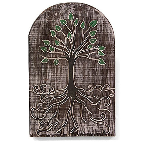 Fair Trade Tree of Life Wooden Plaque
