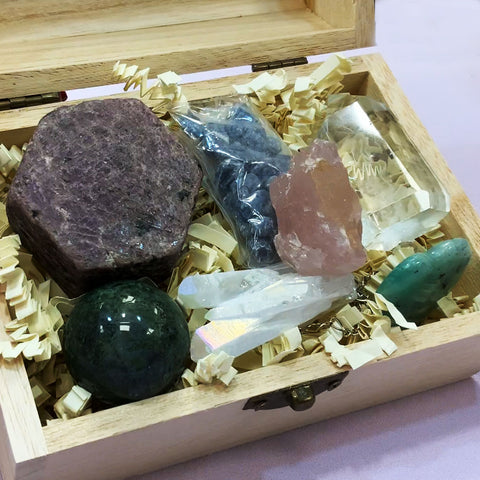 Custom Crystal Boxes