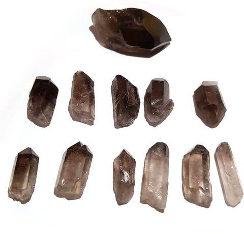 Minerals - Smokey Quartz Natural Points