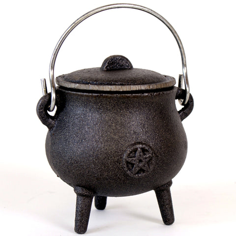 Pot Bellied Cauldron 10cm