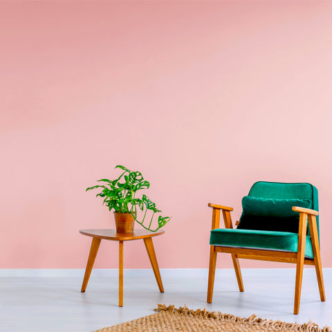 Paeony No. 66 | Pink Eco Paint | Room Shot