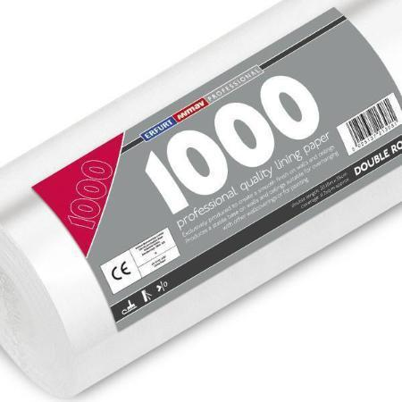 Professional 1000 Grade Lining Paper - Double Length