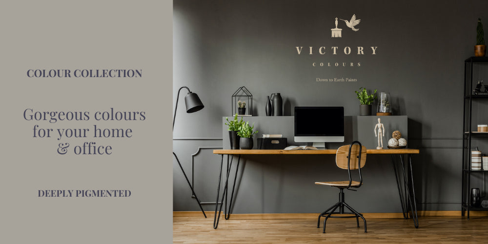 Victory Colours Paint Home Office in Grey Cannonball Paint Home Page
