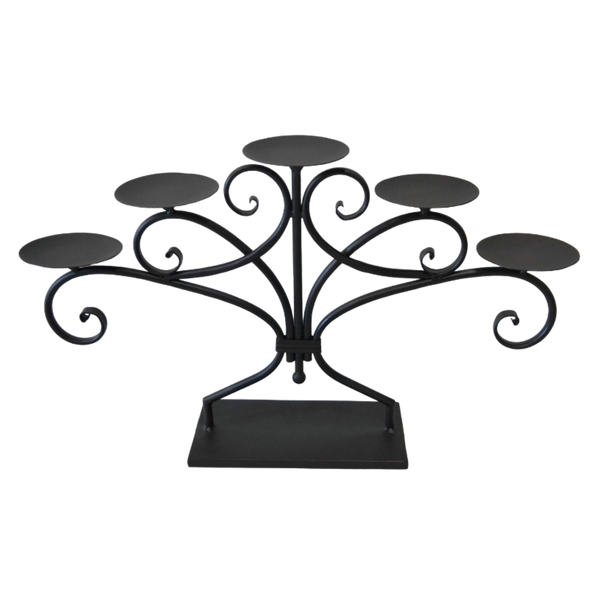 Centre Piece Candelabra Metal Candle Holder
